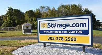 DE Storage Clayton location