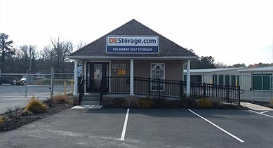 DE Storage Millsboro location