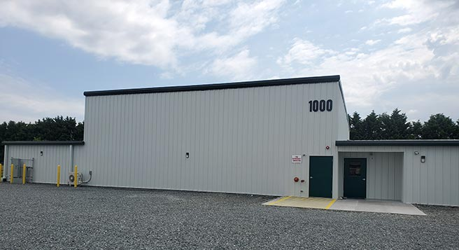 DE Storage Seaford exterior building